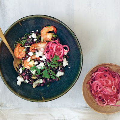 Shrimp and Black Bean Salad