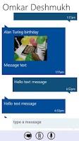 Screenshot of Messaging 7