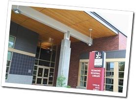 Redmond Library entrance