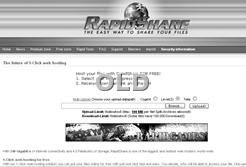 RAPIDSHARE OLD WEBSITE