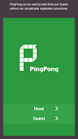 Screenshot of PingPong - SPOT Networking