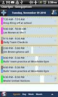 Screenshot of ClearSync Calendars Contacts +