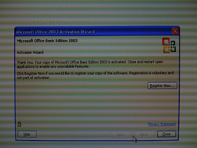 office 2003 basic vs standard