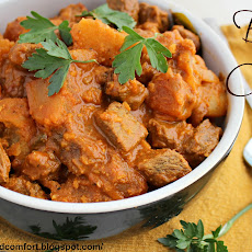Sri Lankan Beef Curry with Potatoes