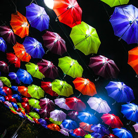 Colorful umbrella by Siti Hana Iryani - Artistic Objects Other Objects