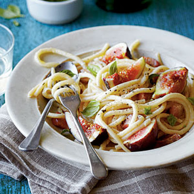 Pancetta-and-Fig Pasta