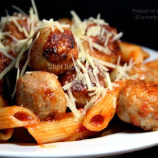 Chicken Meatballs For Spaghetti and Meatballs