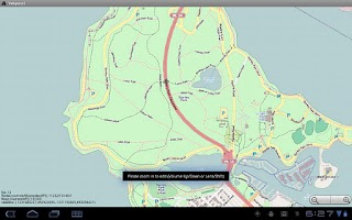 Screenshot of Vespucci OSM Editor