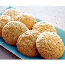 Coconut and Oat Cookies