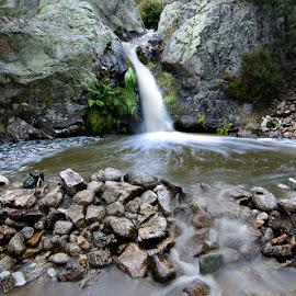 Poza de Sócrates by Eduardo Menendez Mejia - Landscapes Waterscapes ( cascada, navacerrada, españa, tokina 12-24, madrid, waterfall, socrates, cotos, menendez, eduardo, d5100, spain )