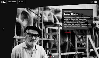 Screenshot of Museo Oteiza