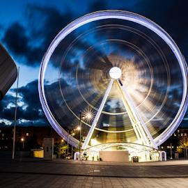 Liverpool eye by Adriaan Oosthuizen - City,  Street & Park  Night ( rampix photography, liverpool, cityscape, rampix, tt classic )