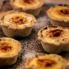 Passion Fruit Brulee Tarts