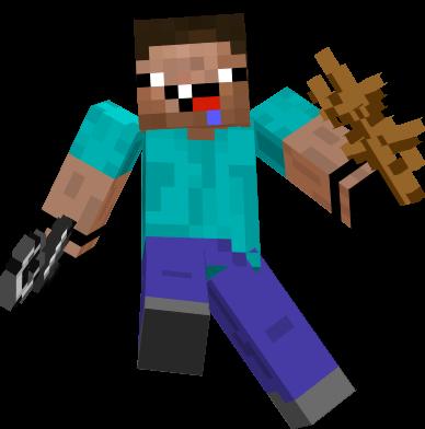 Milk Bucket Minecraft noob griefer/ hacker  ...