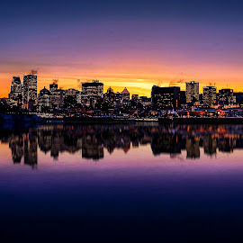 Sunset by Faisal Abuhaimed - City,  Street & Park  Skylines (  )