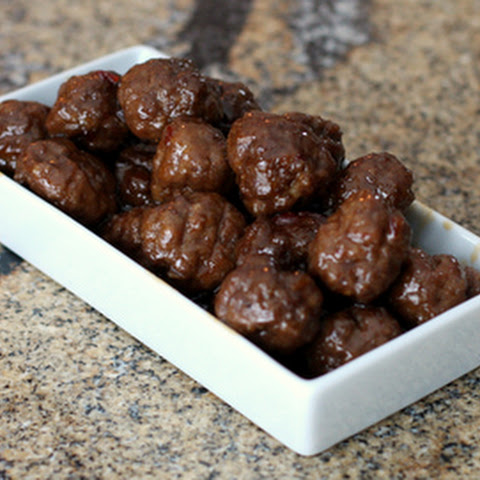 Spiced Appetizer Meatballs