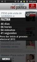 Screenshot of Red Política