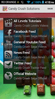 Screenshot of Solutions for Candy Crush