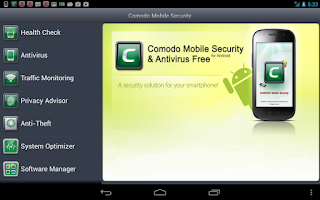 Screenshot of Comodo Security & Antivirus