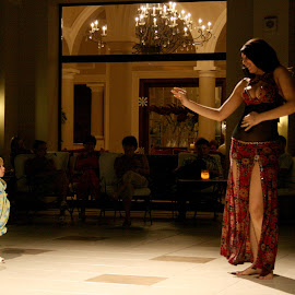 Future belly dancer? by Bica Razvan - People Musicians & Entertainers ( child, woman, belly dancer, dancer, egypt )