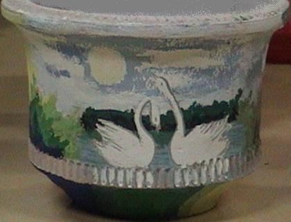 Pot Painting-Lovely Dove