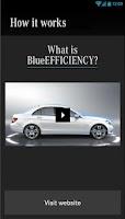 Screenshot of BlueEFFICIENCY battery saver