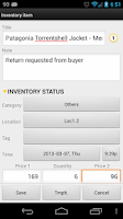 Screenshot of Barcode & Inventory Pro