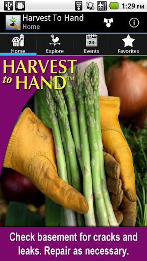 Harvest to Hand