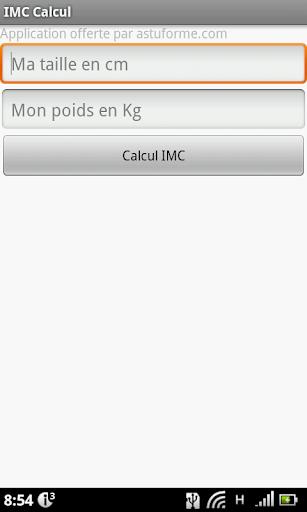 Calcul IMC Gratuit