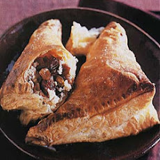Dried Cherry and Golden Raisin Turnovers