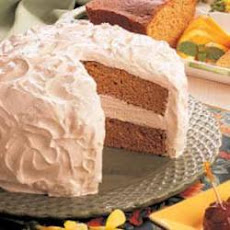 Sour Cream Spice Cake