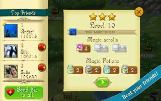 Screenshot of Bubble Witch Saga