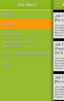 Screenshot of 醫管局職位空缺HA Jobs Search