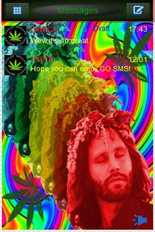 GoSMS Beautiful Jim Morrison