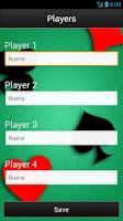 Screenshot of Trex Scorecard HD