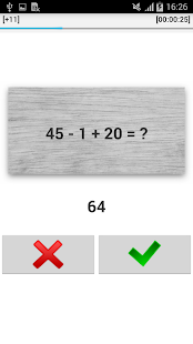 Simple Math Challenge - screenshot