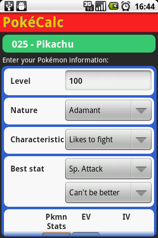 pokecalc-trainer-edition for android screenshot