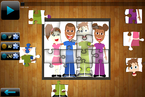 Nursery Rhymes Puzzles - screenshot