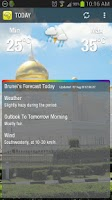 Screenshot of Brunei WX