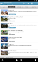 Screenshot of Nepal Travel Guide by Triposo