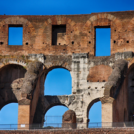 Colosseum II, Rome by Fátima Leão - Buildings & Architecture Statues & Monuments ( colosseum, rome,  )