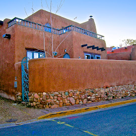 Santa Fe Style by Hugh Hazelrigg - Buildings & Architecture Homes ( project, home, house, architecture, construction )
