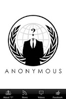 Screenshot of Anonymous Hacker Group