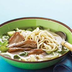 Chinese Roast Duck Noodle Soup