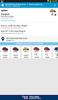 Screenshot of ebookers: Hotel, Flights, Cars
