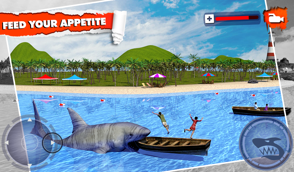 Angry Shark Simulator 3D Screenshot 8