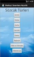 Screenshot of Merkezi Sınavlar (TEOG) Türkçe