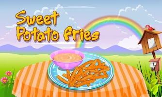 Screenshot of Sweet Potato Fries Cooking