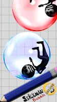 Screenshot of Stickman Bubble Deluxe
