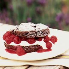 Chocolate Raspberry Shortcakes